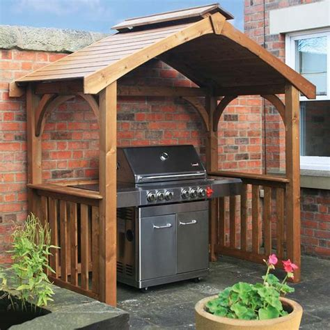 wooden bbq cover wooden bbq gazebo google search plants flowers pinterest gardens decks and search