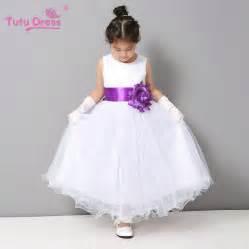 toddler wedding dresses flower dresses summer cheap white stain dress for children toddler wedding tutu dress