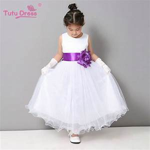 flower girl dresses summer cheap white stain dress for With toddler wedding dress