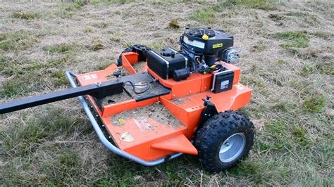 dr tow  field mower mowing thoughts youtube