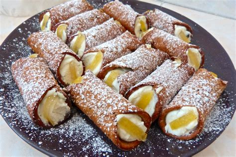cuisine sicilienne recette cannoli sicilien la recette authentique la cuisine de