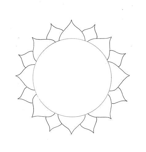 art craft projects lotus mandala