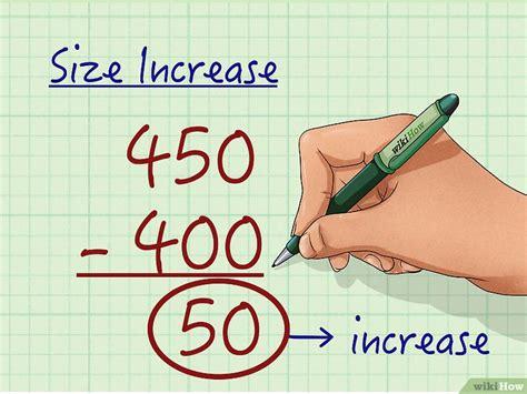 calcolare  aumento percentuale  passaggi