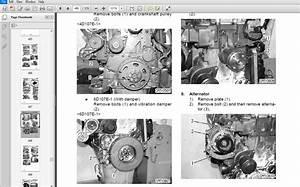 Komatsu 107e-1 Series Diesel Engine Shop Manual
