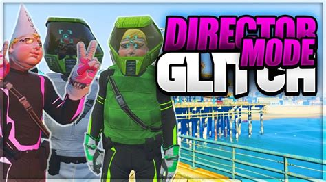 GTA 5 online - DIRECTOR MODE GLITCH BEST OUTFITS - YouTube