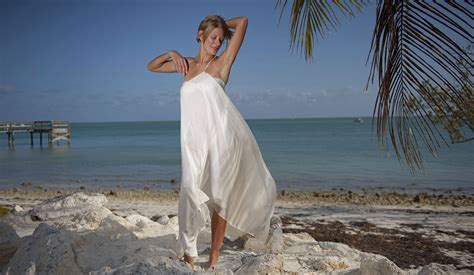 Second Marriage Wedding Dresses Beach