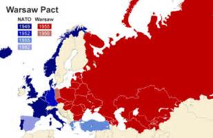 warsaw pact brinkmanship the cold war