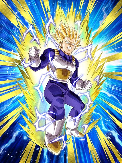 determined  fight  ss vegeta dokkan battle dbz