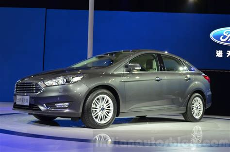 Ford Focus China by Ford Focus China Spec Front Three Quarters At 2015