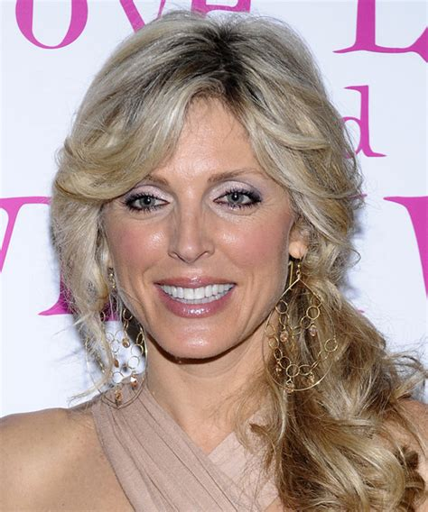marla maples long curly dark champagne blonde