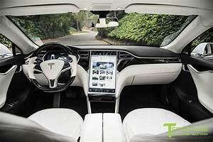 "White Tesla Model S 1.0 - Custom Ferrari White Interior – Tagged ""color ferrari white ..."
