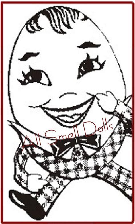 Vintage Humpty Dumpty Sewing Pattern