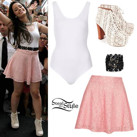 Camila Cabello Fifth Harmony Outfit Square One Mall