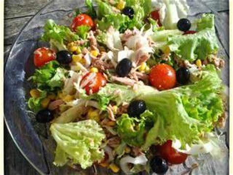 recette de cuisine simple et rapide recettes de salade verte
