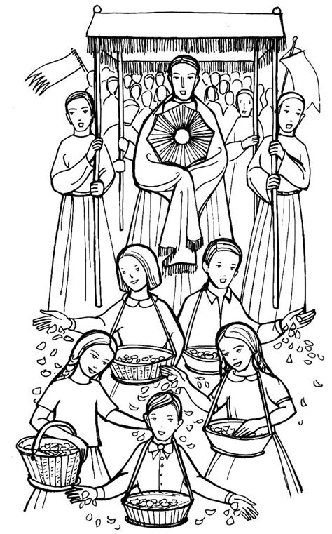 images  catholic coloring pages  kids