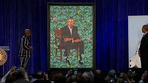 Obamas' official portraits unveiled - The Blade