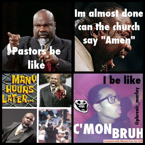 Pastor Meme - pastors be like know your meme