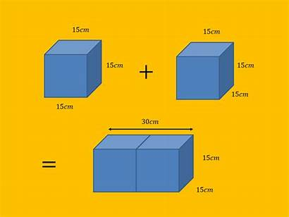 Surface Area Cubes Joined Each Cuboid Side