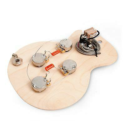 golden age pre wired harness for gibson les paul with standard shaft cts pots ebay