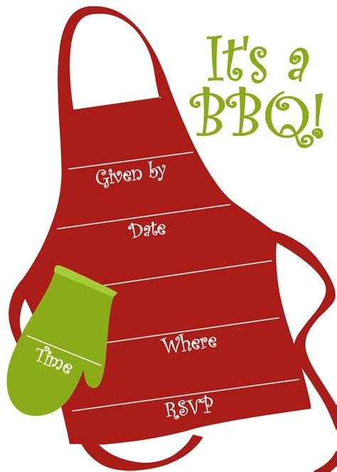 bbq party invitations templates party ideas