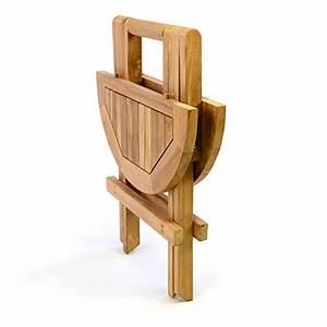 Balkontisch Holz Klappbar : divero kindertisch gartentisch balkontisch beistelltisch holz teak klappbar rund klapptisch ~ Frokenaadalensverden.com Haus und Dekorationen