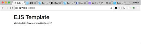 ejs template day11 mvc網站框架 四 使用ejs樣版動態生成網頁 it 邦幫忙 一起幫忙解決難題 拯救 it 人的一天