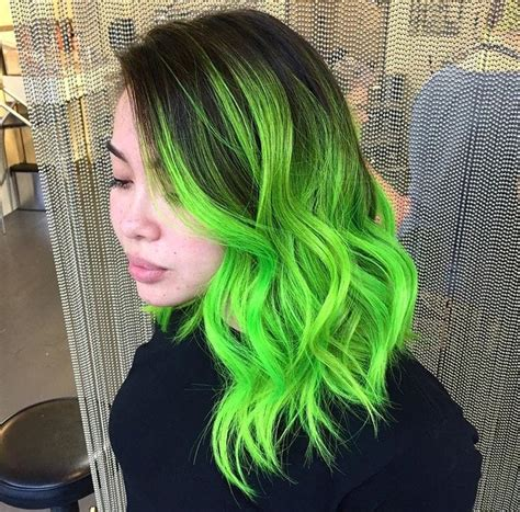 Neon Green Ombré With Casey Featured On Buzzfeeds 17 Of