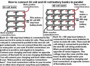 24 Volt Battery Wiring