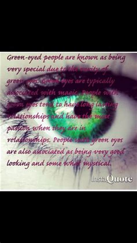 having green eyes quotes