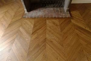 reparations a la maison coffrage hotte angle With parquet chaud