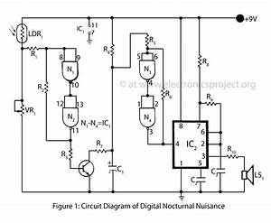 Digital Nocturnal Nuisance  U2013 Electronics Project