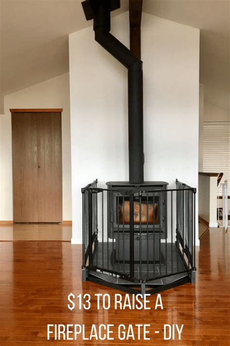 fireplace baby gate fireplace gate raising a baby gate for fireplace safety