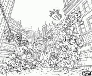 Super Heroes Malvorlagen Murderthestout