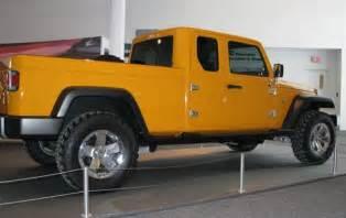 4 Door Jeep Pickup Truck