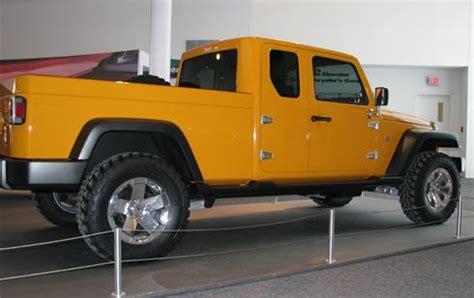 new 4 door jeep truck jeep gladiator 4 door pickup quot truck quot coming in 2013