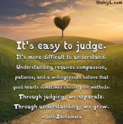 Pretty Quotes About Judging Images Gallery What Happens When We