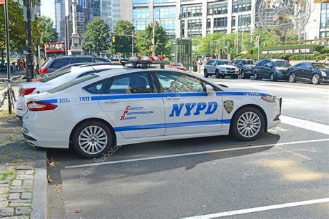 Patrulla de la policía de Nueva York en Nueva York — Foto
