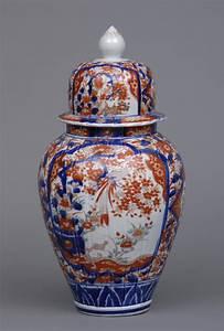 Early Japanese Imari Vase And Lid Circa 1720