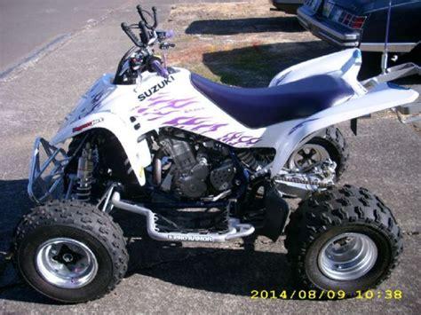 Suzuki 400 Atv For Sale by 2006 Suzuki Quadsport Ltz 400 4 Wheeler White Purple