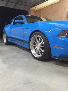 Grabber Blue 2014 Ford Mustang GT500 Shelby SuperSnake For Sale - MustangCarPlace