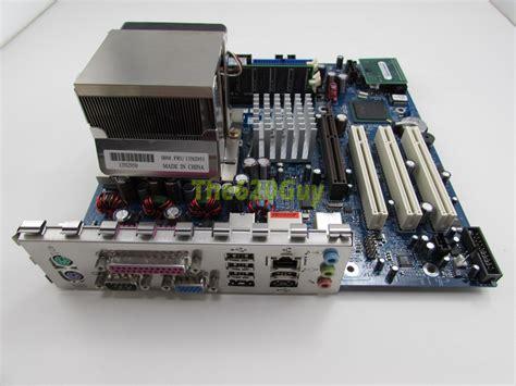 Ibm Thinkcentre 19r2563 Motherboard + Pentium 4 3ghz Cpu