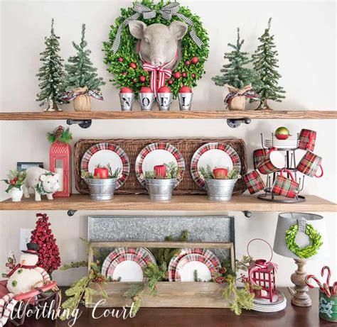decorating shelves  christmas billingsblessingbagsorg