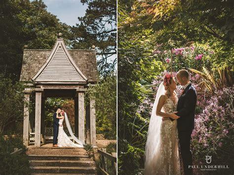 Abbotsbury Subtropical Gardens wedding Dorset Bride and