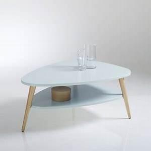 Table Basse Scandinave Bleu : table basse bleu la redoute ~ Teatrodelosmanantiales.com Idées de Décoration