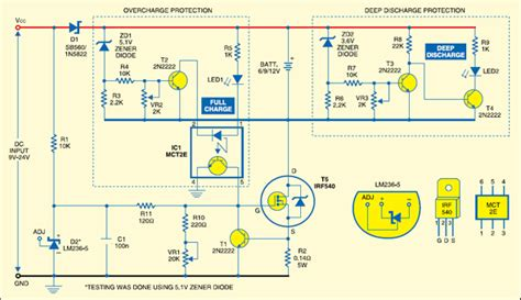 adjustable current   battery charger circuit
