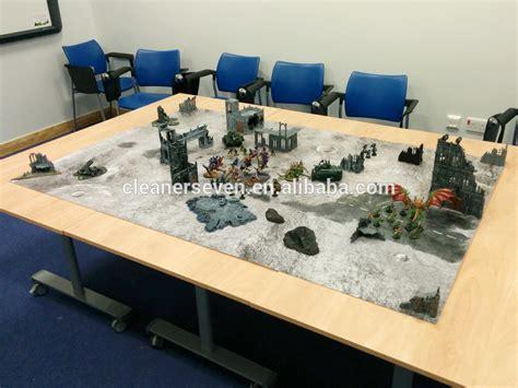 siege table color printed neoprene mat wargame