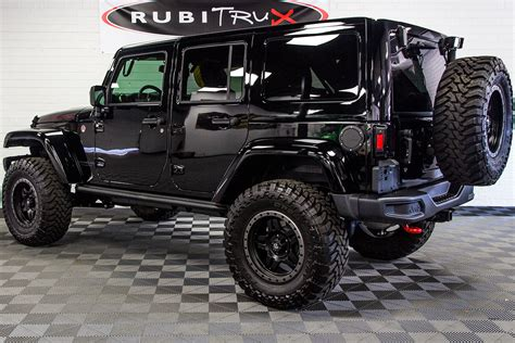 jeep wrangler rubicon hard rock unlimited black