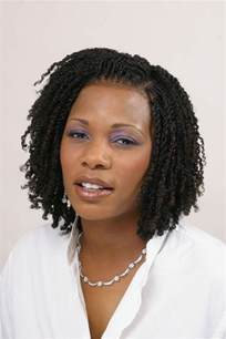 Afro Kinky Twist Hairstyles