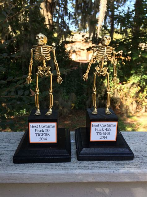 diy costume contest trophies   dollar tree