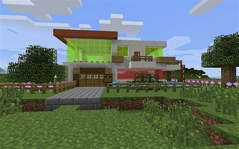minecraft quartz house quartz modern house minecraft project
